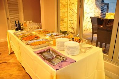 Catering service can be provided